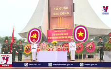 Bình Thuận truy điệu 6 hài cốt liệt sỹ