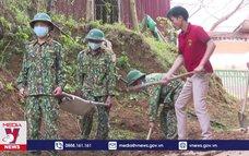 Ấm tình quân dân trên các bản vùng cao huyện Mường Nhé