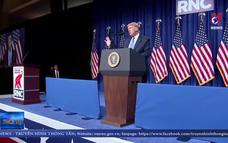 Ông Donald Trump được đề cử làm ứng cử viên Tổng thống Mỹ