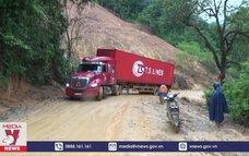 Quốc lộ 279 đi Cửa khẩu quốc tế Tây Trang có nguy cơ tê liệt