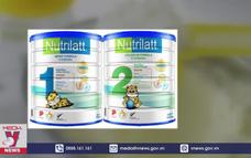 Phát hiện 2 sản phẩm sữa cho trẻ không an toàn