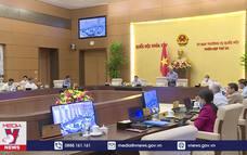 Uỷ ban TVQH cho ý kiến về công tác phòng, chống tham nhũng
