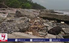 Sạt lở tan hoang khu du lịch sinh thái Rạng Đông