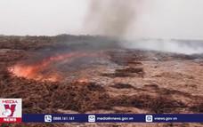 Khống chế cháy rừng tại vùng đầm lầy lớn nhất thế giới