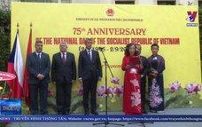 Lễ kỷ niệm 75 năm Quốc khánh 2-9 tại Praha