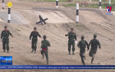Đội tuyển xe tăng Việt Nam tạm đứng vị trí thứ hai ở vòng bán kết