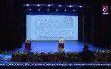 Lào mít tinh trọng thể kỉ niệm 75 năm Quốc khánh Việt Nam