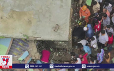 Sập nhà tại Ấn Độ gây nhiều thương vong