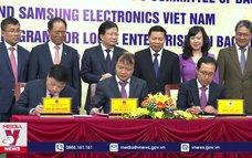 Ký kết chương trình kết hỗ trợ doanh nghiệp Việt Nam