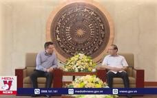 Đẩy mạnh hợp tác giữa Phú Thọ và Thông tấn xã Việt Nam