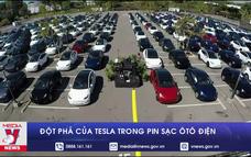 Đột phá của Tesla trong pin sạc ôtô điện