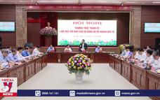 Thành ủy Hà Nội làm việc với Bộ Kế hoạch và Đầu tư