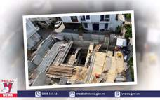 Thủ tướng yêu cầu kiểm tra vụ nhà phố làm 4 tầng hầm ở Hà Nội