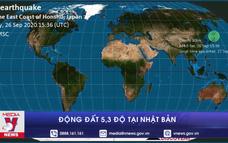 Động đất 5,3 độ tại Nhật Bản