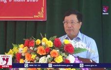 PTT Chính phủ Phạm Bình Minh tiếp xúc cử tri tại Thái Nguyên