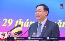 Bí thư  Thành ủy Vương Đình Huệ tiếp xúc cử tri tại Ứng Hòa