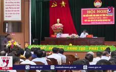 Hoạt động tiếp xúc cử tri tại Thái Bình