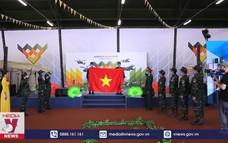 Đoàn Việt Nam mừng Tết độc lập tại Army Games 2020