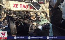 Gia Lai: Hai xe tải đối đầu, một người tử vong