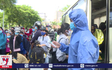 Quảng Bình đón hơn 200 công dân từ Đà Nẵng về cách ly