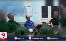 Cứu hộ kịp thời 3 ngư dân Bình Thuận