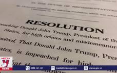 Hạ viện Mỹ thúc đẩy nỗ lực luận tội Tổng thống Trump