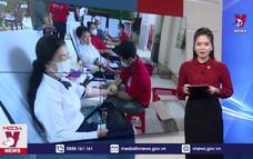 Chiến dịch vận động hiến máu tình nguyện dịp Tết