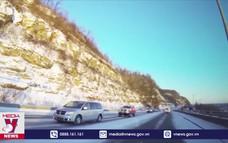 Lái ôtô trên đường băng tuyết, tài xế Việt cần chú ý những gì?