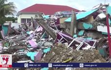 Mưa lớn cản trở công tác tìm kiếm nạn nhân động đất tại Indonesia