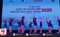 """Lễ trao giải cuộc thi """"Thanh niên với văn hóa giao thông"""" năm 2020"""