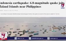 Lại xảy ra động đất mạnh ở Indonesia