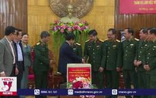 Phó chủ tịch Quốc hội Đỗ Bá Tỵ thăm và chúc tết QK5