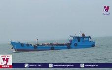 Bắt giữ tàu chở dầu không có giấy tờ hợp pháp tại Quảng Nam