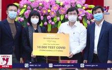 Quảng Ninh tiếp nhận 10.000 test nhanh COVID-19