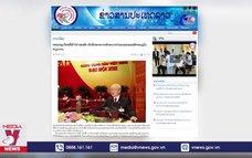 Báo Lào khẳng định Đại hội XIII đánh dấu bước phát triển của Việt Nam