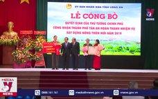 Thành phố Tân An (Long An) hoàn thành xây dựng nông thôn mới