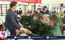 Chúc Tết thương bệnh binh Trung tâm điều dưỡng Nho Quan