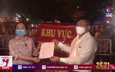 Thành phố Thuận An dỡ bỏ phong tỏa trong đêm giao thừa