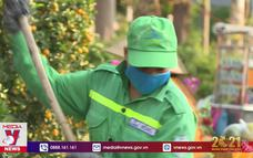 Thành phố sạch cho người dân đón Tết