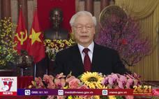 Tổng Bí thư, Chủ tịch nước Nguyễn Phú Trọng chúc Tết Tân Sửu