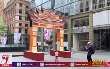 Ấn tượng cổng chào truyền thống của Việt Nam tại Sydney