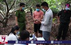 Công an Tây Ninh đột kích xới bạc tại vườn nhãn, tạm giữ 39 đối tượng
