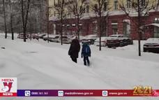 Bão tuyết chưa từng có ở Nga