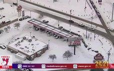 Bão tuyết ảnh hưởng nghiêm trọng miền Trung Tây nước Mỹ