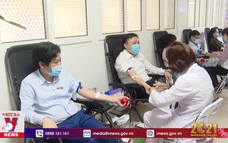Lượng máu dự trữ thiếu nghiêm trọng