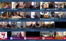 Giải vô địch chèo thuyền trong nhà tổ chức trực tuyến