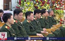 Đoàn công tác Bộ Quốc phòng chúc tết tại Nam Định