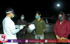 Trắng đêm kiểm soát dịch ở Điện Biên