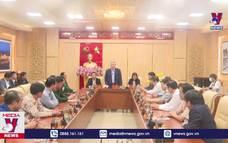 Chánh án Tòa án nhân dân tối cao Nguyễn Hòa Bình làm việc tại tỉnh Quảng Ngãi