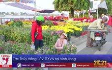 Hoa xuân tiêu thụ chậm tại Vĩnh Long